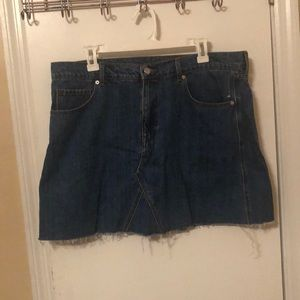 Old Navy Denim Mini Skirt Size 16